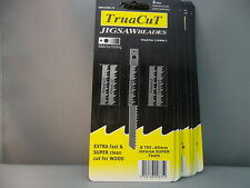 JIG SAW BLADES TruaCuT 10 Cards of 5/Cd 70% Disc
