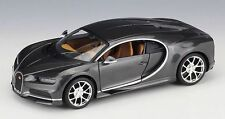 Maisto 1:24 2016 Bugatti Chiron Diecast Model Racing Car Vehicle Toy Gray IN BOX