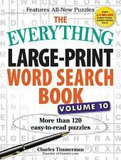 Everything®: The Everything Large-Print Word Search Book, Volume 10 : More...