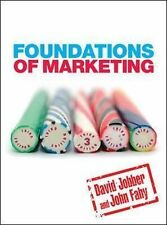 Foundations of Marketing by John Fahy, David Jobber (Paperback, 2009)