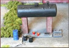 Knightwing B22 Diesel / Heavy Oil Storage Tanks & Accessories Kit OO Gauge