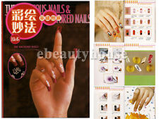 Nail Art Design Color Step-by-step Technique Guide Book #006