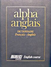 DENIS GIRARD cassell's new french-english dictionnary 1977 BBC ALPHA ANGLAIS++