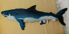 Tree House Kids Giant Stuffed Shark Plush Jumbo Toy Pillow 52