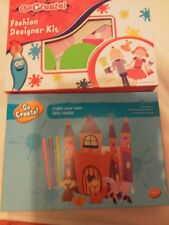 Go create, fashion designer kit & make fairy castle . Bnib.