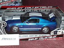 SHELBY COLLECTIBLES 2011 FORD MUSTANG SHELBY GT350 COUPE 1/18 BLUE/WHITE