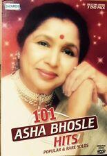 101 Asha Bhosle Hits - 101 Bollywood Songs DVD, 101 Songs In 3 DVD Set