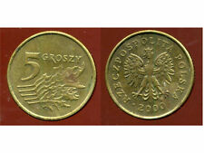 POLOGNE  5  groszy  2000  ( bis )
