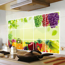 Sticker mural Fruits Vigne Mur autocollants Sticker Cuisine Décoratif