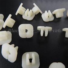 50 Nylon Nut #10 Screw Grommet Plastic Clips Fits For Nissan For Honda For Mazda