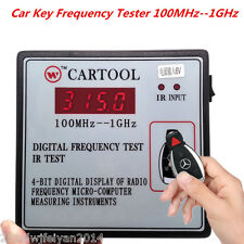 Car IR Infrared Remote Control Transmitter Digital Frequency Tester 100MHz--1GHz