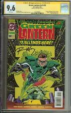 GREEN LANTERN V3 #50 SS CGC 9.6 1ST APP KYLE RAYNER AS GL DEATH KILOWOG