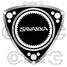 ROTARY STICKERS for RX2 RX3 RX4 RX7 RX8 R100 GT RE - SAVANNA SCRIPT #09