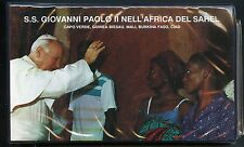 POPE JOHN PAUL II VISITS AFRICA 1990 SET OF 18  FIRST DAY COVERS MALI, CHAD ETC