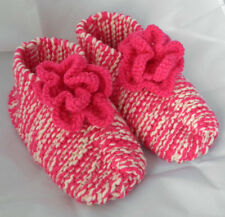 Slipper Sock Knitting Pattern / Instructions to knit Classic/Flower By Knitwitz