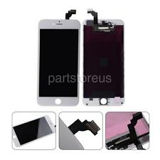 US White LCD Screen + Touch Digitizer Assembly For iPhone 6 Plus 5.5'' + Fr