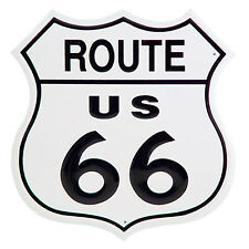 "11"" US Route 66 Shield Tin Sign Man Cave Bar Garage Wall Home Decor Highway Road"