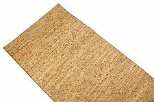 """Natural Cork Table Runner with Fabric Backing 14"""" x 72"""" NEW Lot KT-TD97-R43"""