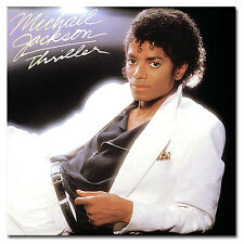 "Michael Jackson Thriller (1982) Album Cover Fridge Magnet Size 3.5"" x 3.5"""