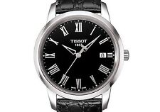 Tissot Men's T033.410.16.053.01 T-Classic Dream Black Dial Stainless Watch $225