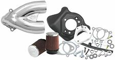 SS Cycle Tuned Induction Kit Chrome 106-2448* 49-3900 1010-0706