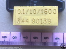 VINTAGE BLOCK CAPACITOR 0.1 uF 10% 1600V For Valve Circuits, Amplifier, etc