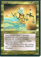 MAGIC THE GATHERING ICE AGE GOLD FIERY JUSTICE
