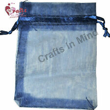 Organza Bags | Best Quality Jewellery Pouch Gift Favour | 5 Sizes in 10 colours