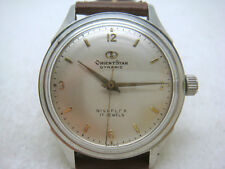 Japan ORIENTSTAR 17 Jewels Manual Men's Watch 60's