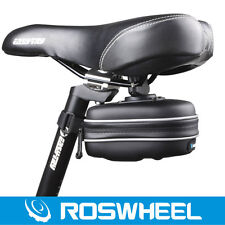 ROSWHEEL Waterproof Bike Cycling Saddle Bag  Case Bicycle Tail Rear Storage Seat