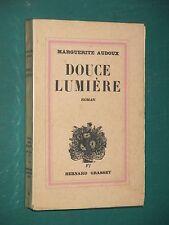 Douce Lumière Marguerite AUDOUX ex. numéroté sur Alfa