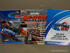 Nascar Race Program Daytona 500 Thirty-Ninth February 16,1997 w/ Starting LineUp