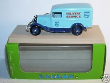 ELIGOR FORD V8 CAMIONNETTE 1934 DELIVERY SERVICE PHILIPS BLEUE REF 1505 IN BOX