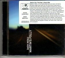 (DH101) Martin's Folly, From Hope - 2003 DJ CD