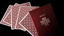 Raspberry Mint Custom Rare Limited Edition Playing Cards - Marked Deck