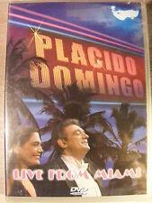Placido Domingo - Live from Miami (DVD, 2007) BRAND NEW!