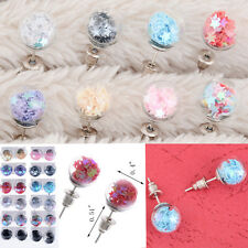 12 Pairs Lots Women Fashion Jewelry Crystal Star Beads Studs Earrings Wholesale
