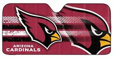 Arizona Cardinals Auto Sun Shade [NEW] Car Truck Window Reflective Cover 59x27