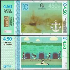 England / Exeter-  £4.50 Banknote, Odd denomination & very Limited Edition. UNC