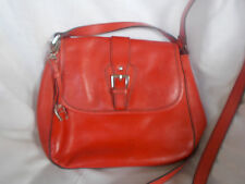Vintage~ETIENNE AIGNER~Medium RED~Leather Cross Body SHOULDER BAG~C@@L!