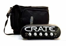 Crate PowerBlock CPB150 Stereo 150w Guitar Amp Head w Gig Bag Manual Pwr Cord