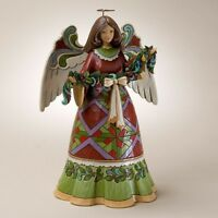 Enesco Heartwood Creek Christmas Holiday Angel Jim Shore NIB 4023457