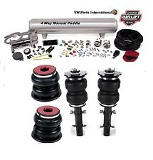 "Vw golf MK4 R32 air lift manual air ride management + slam series kit 6"" goutte"