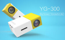 2016 Edition Super mini YG300 Mini led projector full HD HDMI 600 lumi 3D