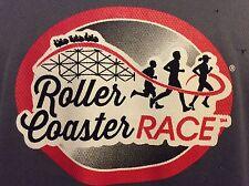 Roller Coaster Race Running Xl Shirt. Kennywood Park Volunteer. Pittsburgh Pa