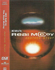 (MC SAR &) The Real McCoy ‎Another Night CASSETTE SINGLE Eurodance, Tech House