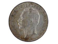 Kaiserreich 5 Mark Silber 1908 Friedrich II. Grossherzog von Baden