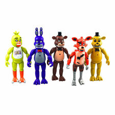 5pcs Fun Funko Five Nights at Freddy's Action Figures Doll Toy Set To Collection