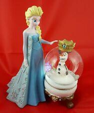Disney Disneyland Paris Elsa y Olaf esfera de nieve