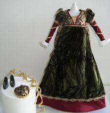 Barbie Clothes/Fashions Gorgeous Medieval Gown NEW!!
